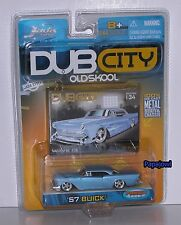 JADA Dub City Old Skool 1957 Custom Buick 57 Low Riding Led Sled 1:64 Scale -