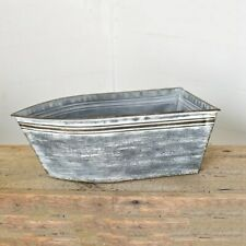 Large Tin Boat Container