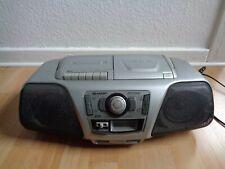 SHARP QT-CD141 X-Baas Stereoanlage CD Radio Kassetten Recorder Ghettoblaster