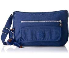 Kipling Jazzy Blue Syro Crossbody Shoulder Bag Purse Lightweight Nylon Travel