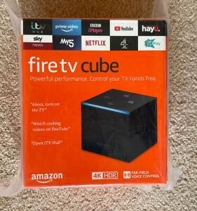 BNIB Amazon FireTV with Alexa, 4K Ultra HD Streaming Media Player - New!