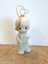 Precious Moments Hanging Ornament You're A Number One In My Book #150142 (PR10)