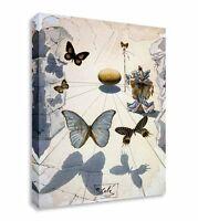 Salvador Dali Butterflies Canvas Art Cheap Print