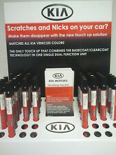 Kia Touch Up Paint Color Code 3D Bright Silver OEM UA006 TU50143D Factory Match