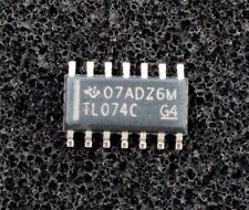 TL074CD a basso rumore JFET-INPUT QUAD OP-AMP 3 MHz, SOIC 14 (pacco da 4)