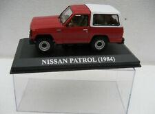 Nissan Patrol 160 ph.1 1984 1981-1986 Rouge  1/43 Ixo Altaya Neuf boite