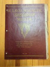 De Laval Magnetic Speedway Milker The De Laval Separator Company INV-P004