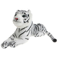 Cute Children Baby Kids Tiger Animal Soft Stuffed Plush Toy Pillow Gifts Exotic White