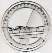 Vintage: Angle-Master Protractor (1980's ???)