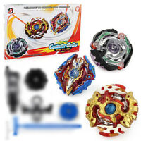 3pc Beyblade Burst Starter XD168-5 Beyblade Metal Fusion With Launcher Box