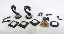Warhammer Chaos Demon Daemon Tzeentch Flamers army lot metal oop