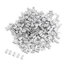 1,2 //1,5mm 200x Quetschhülsen Klemmhülsen Crimphülsen Aluminiumlegierung 1