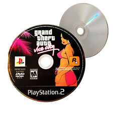 (Nearly New) Grand Theft Auto Vice City SLUS-20552 PS2 Video Game- XclusiveDealz