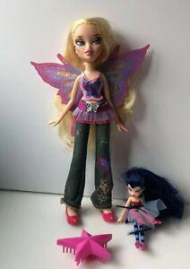 Bratz Pixiez Pixie Doll Cloe & small Fairy (G1)