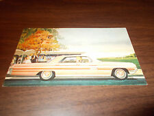 1962 Oldsmobile Ninety-Eight Holiday Sports Sedan Advertising Postcard