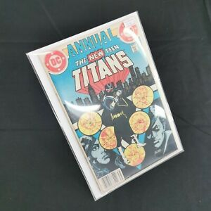 DC Comics - Teen Titans Annual #2 1st Vigilante In Costume, Harbinger & Cheshire