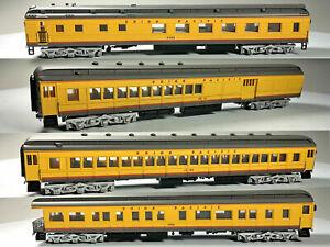 Bachmann Spectrum HO Heavyweight Passenger Set Union Pacific UP LOT x4 #89320 A