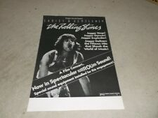 Rolling Stones:  Ladies & Gentlemen   49cm X 35cm   Movie   Poster