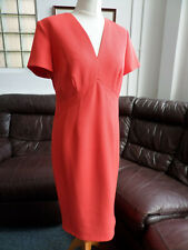 Marks & Spencer M&S Collection Coral Sunshine Fitted Dress Size UK 14