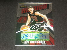 KIRK HINRICH BULLS SIGNED AUTOGRAPHED CERTIFIED AUTHENTIC BASKETBALL CARD /999