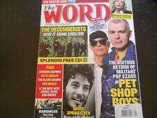 Pet Shop Boys, Marianne Faithfull, Radiohead - The Word Magazine 2009