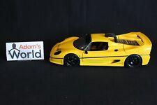 "Maisto Transkit Ferrari F50 GT ""Test Version"" 1:18 yellow (PJBB)"