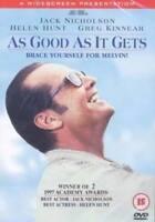 As Good As It Gets DVD (2014) Jack Nicholson, Brooks (DIR) cert 15 ***NEW***
