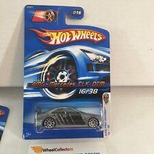 #2  AMG-Mercedes CLK DTM #16 * GREY w/ 10sp Rims * 2006 Hot Wheels * WC8