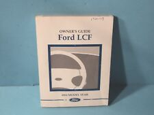 06 2006 Ford LCF owners manual
