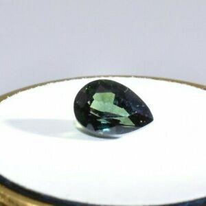 Australian Natural Faceted Sapphire - 1.9CT Parti Blue & Green Pear Gemstones