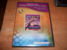 (2) California Geometry Teacher Online Access Pack + Student Center CD ROM NEW