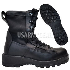 Wellco Army Youth Kids Boys Military GORETEX Infantry Combat LEATHER Boots 5.5 W