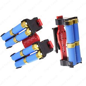 Safariland Model 086, 4 & 8 Shotgun Shell Holder/Caddie - Offered in Red & Black