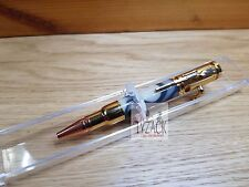 Tyzack Mini Chrome Camouflage Rifle Bullet Bolt Pen Finished in Plastic Case 2a