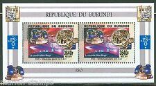 BURUNDI  2015  E.S.O.  GIANT TELESCOPES  SHEET  OF TWO MINT NH