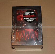 INDOCHINE BLACK CITY TOUR BOX COLLECTOR - 2CD - 2 DVD - 1 BLU RAY - NEUF