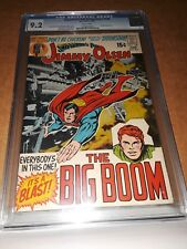 SUPERMAN'S PAL JIMMY OLSEN 138 CGC 9.2 NEAL ADAMS KIRBY white pages!!