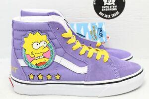 Vans Sk8-Hi The Simpsons Lisa Size 6.5