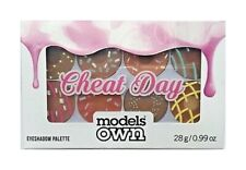 Models Own Cheat Day Eyeshadow Palette - 8 Piece 16 Shades - Brown Tones #32R359