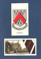OUNDLE SCHOOL Coat of Arms & Old Oundellians Tie God grant grace 1906 cards