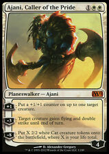 AJANI CALLER OF THE PRIDE NM mtg M13 White - Planeswalker Mythic