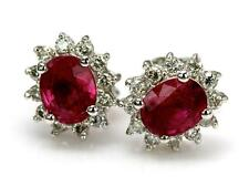 Ruby 14k Fine Earrings