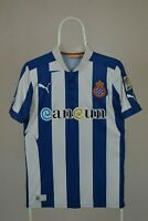 Espanyol 2012/2013 Home Football Shirt Puma Camiseta Size S