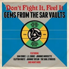 DON'T FIGHT IT-FEEL IT 2CD The Sims Twins, Johnnie Morisette,Johnnie Taylor NEUF