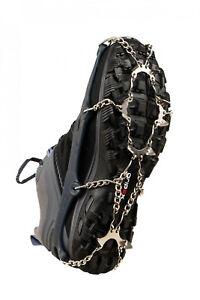 Snowline Eisspikes, Eis Spikes, Chainsen WALK, Gr: XL für Schuhgröße 44 bis 48