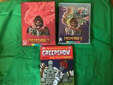 Creepshow 2 Blu ray - Arrow Special Edition - Comic Pinfall - Region A (not UK)