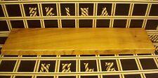 R13 Wandboard Kirschholz Massiv Regal Steckboard Regalbrett 40mm x 19cm x 80cm