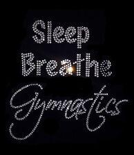 Gymnastics Large Crystal Iron On Transfer 4 Dance Practice Wear Leotards TShirts