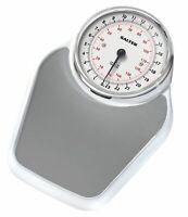 Salter Academy Doctors Style Bathroom Scales - White + Grey