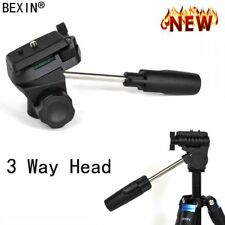 3 Way Photo Camera Ball Head For SLR Digital Micro DV Mobile Phone Camera